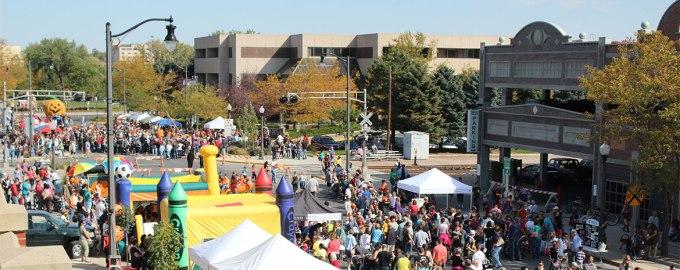 Downtown pumpkinfest2013